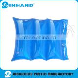 2016 factory promotional EN71/ASTM approved fashion durable blue Pvc Inflatable travel/bath floating pillow