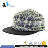 Daijun New Design OEM Hot Sale 100%Cotton Metal Buckle Black Sublimation Crown Patch Logo Men Custom Microfiber Hats