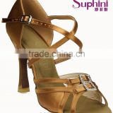 long Strap crystal stone high heel comfortable and fashionable ladies latin salsa dance shoes