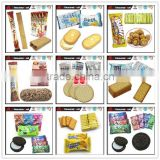 Chuanghui Puffed Food Biscuits and Cookies / Mini Biscuits & Chocolate Oat Puffed & Choco Wafer & Milk Cheese Cake