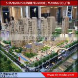 3d miniature architectural scale models maker from China/SH building scale model making company