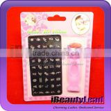 stamping nail art set fashional stamping and scrapper nail products