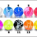 UV Marble Balls jewelry body piercing Accessories