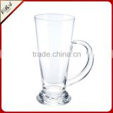 20oz German Style Extra Large Glass Beer Mugs with handles