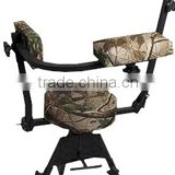 2015 hot selling Waterproof Height adjustable folding hunting chair with military color