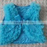 Cheap cotton shrug designs for girl, chiffon shrug, baby waistcoat