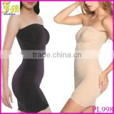 Hot Sex Slimming Control Strapless Body Shaper Skirt Underwear Tube Dress Slip Tummy Trimmer Shaper Smoother Slim Suit