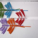 Multicolor balance bamboo dragonfly from Vietnam leading munufacture