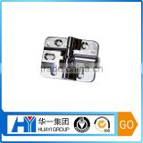 Custom 180 degree concealed hinge zinc plated die casting folding door hinge for canbinet or locker