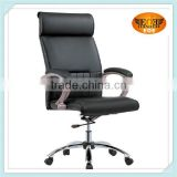 Aluminum star base leg swivel glider office chairs