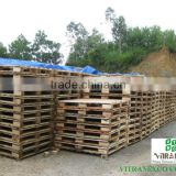 Acacia timber making pallet