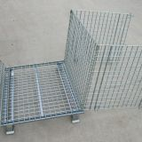 Warehouse Storage Wire Mesh Container Heavy Duty OEM