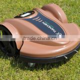 Convenient LCD dispay Robotic Lawn Mower TC-158N, Grass cutting machine with 30mm/40mm blades
