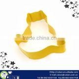 Fat Cat Shape Stainless Steel Cookie Cutter with botton,Biscuit Cutter CK-CM0028