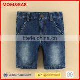 Knitted Design mom and bab Summer Baby Jeans China Supplier Wholesale Boys Shorts