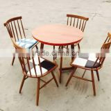 2016 high quality hot selling copy wood design coffee set and dining set