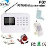 Saful PG3 PSTN+ GSM LCD screen doorbell GSM door alarm system