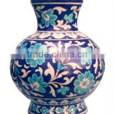 Home Decor Blue Pottery Flower Pots