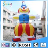 SUNWAY 8 meters Giant Inflatable Clown, Commercial Inflatable Balloons MO-137