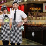 printed bib apron with custom logo for Restaurant and Bar and Coffee and Pizza shop