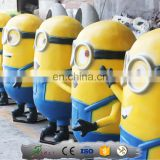KAWAH Fiberglass Cartoon Model Minions for shopping mall
