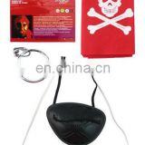 Kids plastic pirate eye patch toy