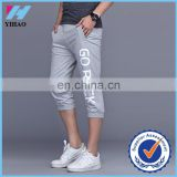 Yihao 2015 fashion men sports pants casuall clothing trousers plus size Printed short gymwear pants