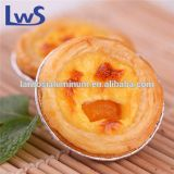 Promotion! Aluminum eggtart container, disposable foil cake baking tin