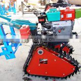 High driven power ginger harvester  with crawler