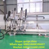 Crimping machine for aluminum windows and doors