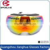 Factory OEM UV400 Polarized High Impact Resistant Skiing Goggles Fashion Snowboard Gafas