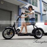 High Quality 1000w Motor Two Wheel Electric Scooter With Seat 60V Lithium Battery Cheap Electric Scooter For Adults                                                                         Quality Choice