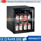 52L desk top mini bar refrigerator counter top display fridge