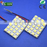 Factory selling wholesale price 5050smd 4x6 24smd car led room lamp for interior reading light