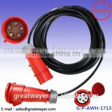 2.5mm2 5 wires alloy wheel rim 5 hole car battery jumper cables