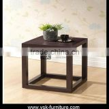 CT-115 Cube Model Wood Side Table