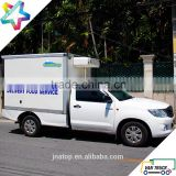 1.0 Tonne 2.4m ice cream truck body UTE pick up ice cream truck                                                                         Quality Choice