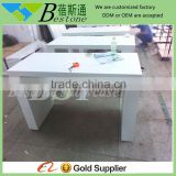 luxury double people used nail table for sale