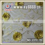 2013 Wholesale fashion and high quality sequin embroidery lace fabric