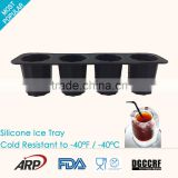 Food grade Silicone Ice Cube cup Ice Mold Ice Cube Maker Ice Cream Tool, Eco-friendly, BPA Free,