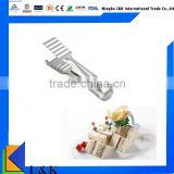 High quality stainless steel buffet kitchen metal clip/bbq tong