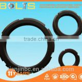 best quality China manufacture Carbon steel black DIN981 locknuts