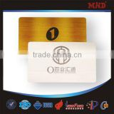 MDM8 wholesale reasonable exporting metallic cards custom business card stylish metal vip card