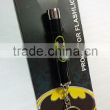 projector torch/LED Keychain Type and Plastic Material led flashlight keychain