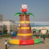 beauty sheep climbing inflatable climbing