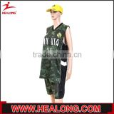 2015 hot sales basketball uniform design green,custom basketball shooting shirts