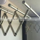 Folding Balcony Stainless Steel Clothes Drying Rack,wall mounted clothes hanger rack