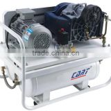 8bar (116PSI) 3.7KW 2900rpm belt drive open-type oil free scroll compressor with air tank