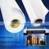 Wholesale 180gsm Professional Blank White Inkjet Matte Coated Photo Paper