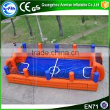 giant inflatable indoor football field for sale,soap soccer field                                                                                                         Supplier's Choice